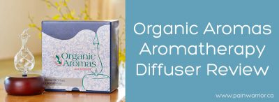 Organic Aromas Aromatherapy Diffuser Review