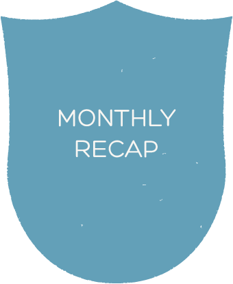 Click here to view my monthly recap blog posts
